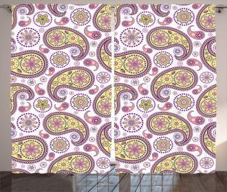 Ethnic Authentic Motif Curtain