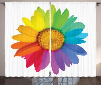 Hippie Daisy Spring Curtain