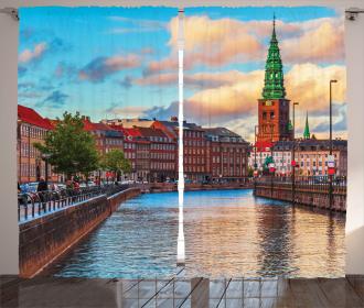 Sunset of Copenhagen Curtain