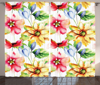 Country Artwork Curtain
