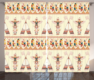 Bohemian Icons Curtain