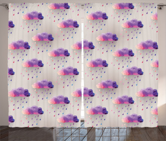 Geometric Mosaic Dots Curtain