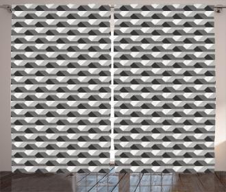 Minimalist Link Shape Curtain