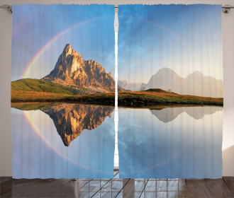 Rainbow over Mountain Curtain