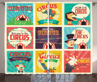 Carnival Old Circus Curtain