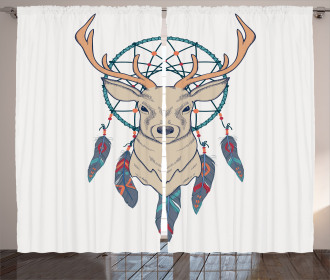 Ethnic Native American Curtain