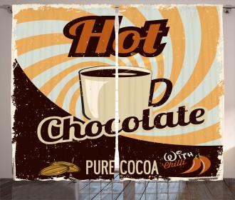 Retro Hot Beverage Curtain