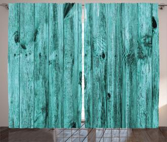 Antique Timber Texture Curtain