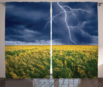 Thunder Bolt Rural Field Curtain