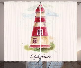 Pastel Watercolors Curtain
