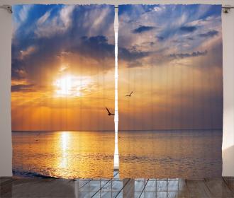 Early Morning Sunrise Curtain