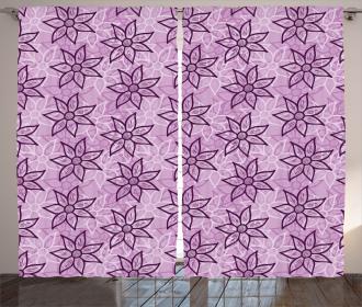 Flower Spring Charm Curtain