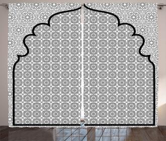 Turkish Ottoman Mosaic Curtain
