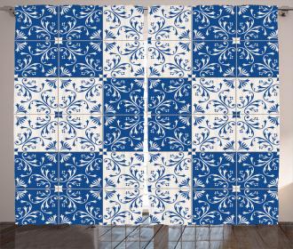 Portuguese Mosaic Curtain