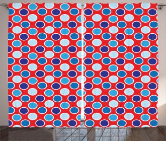 Dots European Artsy Curtain