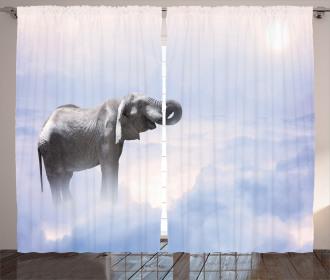 Heaven Animal Freedom Curtain
