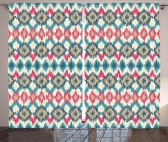 Handmade Triangle Boho Curtain