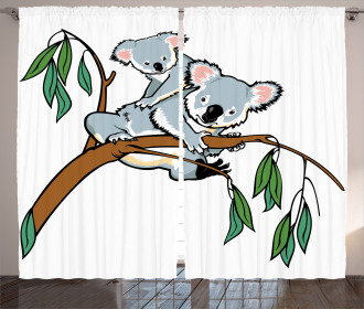 Koala Eucalyptus Curtain