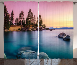 Tranquil Serene View Curtain