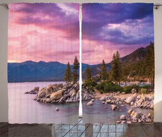 Secret Paradise Forest Curtain