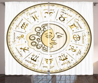 Horoscope Positions Curtain