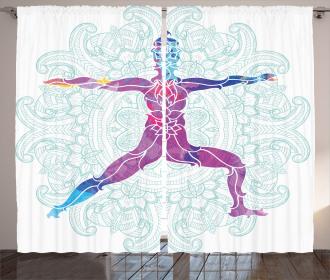 Mandala Boho Meditation Curtain