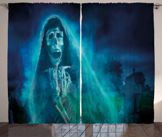 Gothic Ghost Curtain