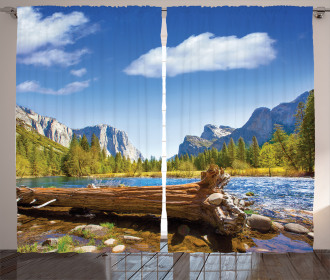 California Yosemite Curtain