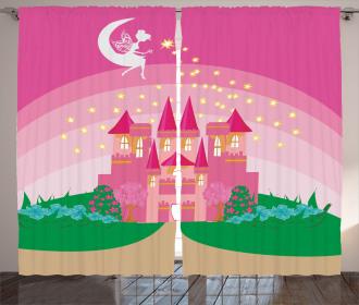 Fairytale Castle Princess Curtain