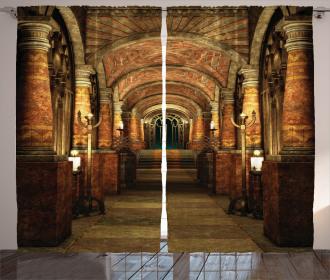 Secret Passage Medieval Curtain