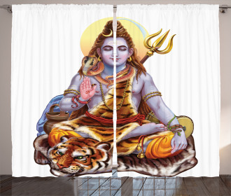 Authentic Cosmos Spirit Curtain