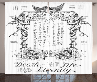 Gothic Medieval Magic Curtain