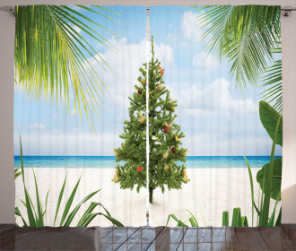 Holiday Party Tree Curtain
