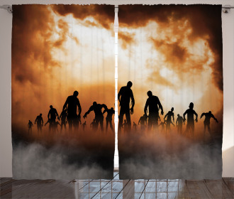 Zombies Misty Curtain