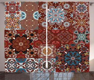 Victorian Mandala Curtain