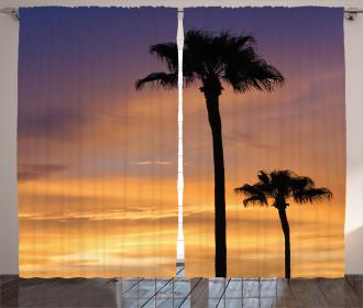 Exotic Coconut Dreamy Curtain