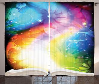 Fairy Tale Book Rainbow Curtain