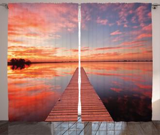 Pathway Sunset at Ocean Curtain