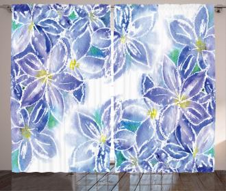 Spring Bouquet Curtain