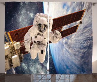 Gravity Astronaut Curtain