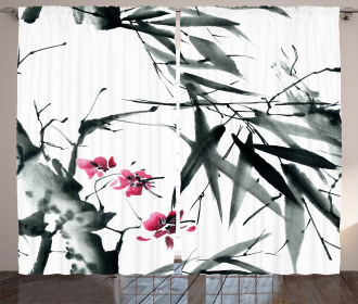 Natural Spring Buds Curtain