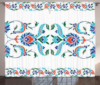 Ottoman Tulips Curtain