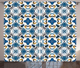Portuguese Tilework Curtain