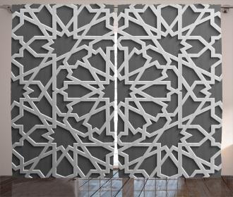 Moroccan Heraldic Empire Curtain