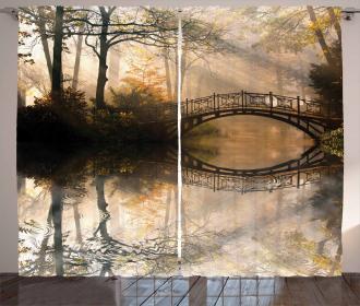 Bridge River Forest Curtain