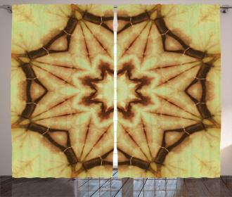 Mandala Grunge Ethnic Curtain