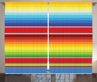 Mexican Ethnic Pattern Curtain