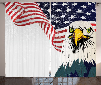 4th of July Country Curtain