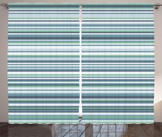 Abstract Narrow Band Curtain