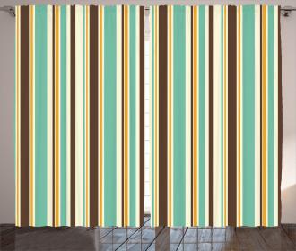 Nostalgic Fashion Art Curtain